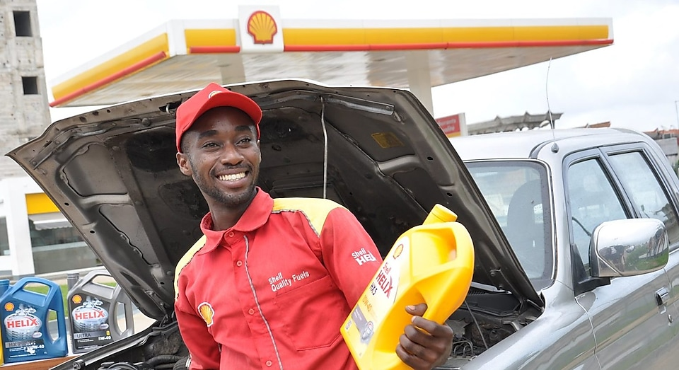Shell assistant opening bonet