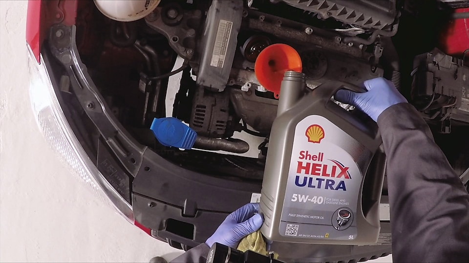 How to do an oil change on a car