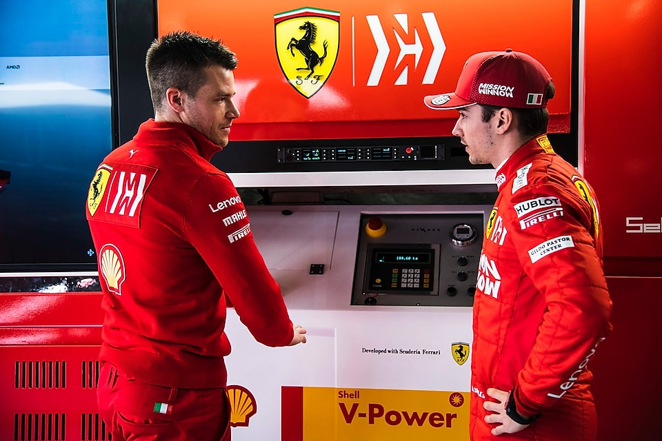 Shell's Innovation Partnership with Scuderia Ferrari
